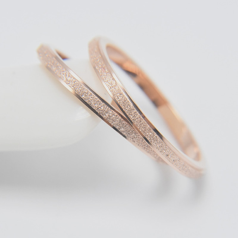 Unisex Stainless Steel Fashion Ring