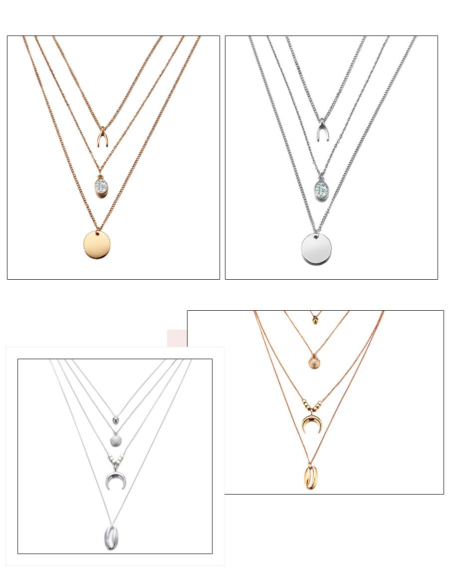 Women's Crystal Elegant Necklace