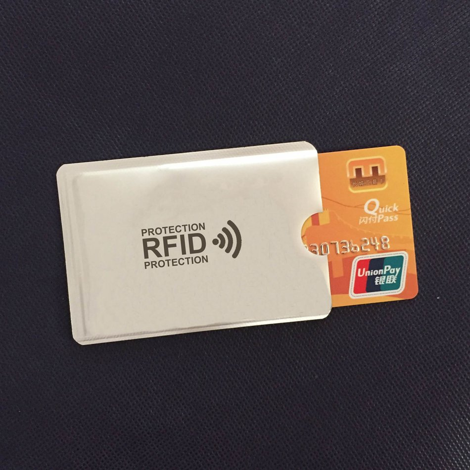 RFID Protection Card Holder