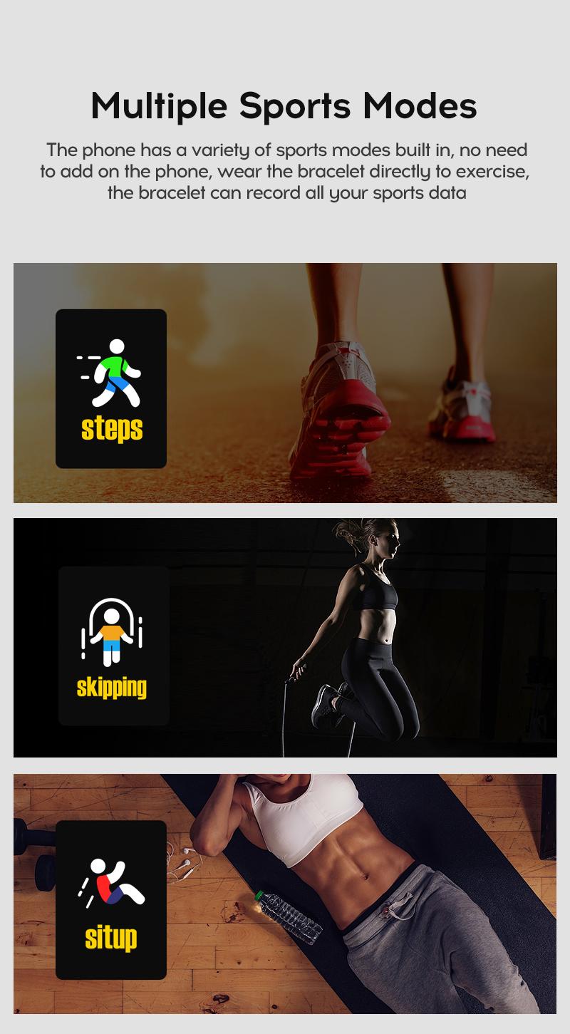 Men's Sport Digital Smart Watch