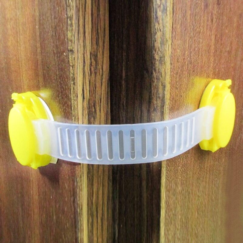 Plastic Safety Locks 10 pcs Set