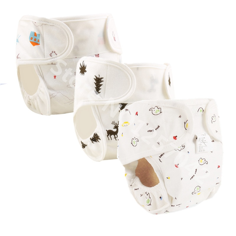 Cotton Washable Waterproof Diapers