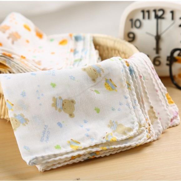 Baby's Teddy Bear Printed Towels