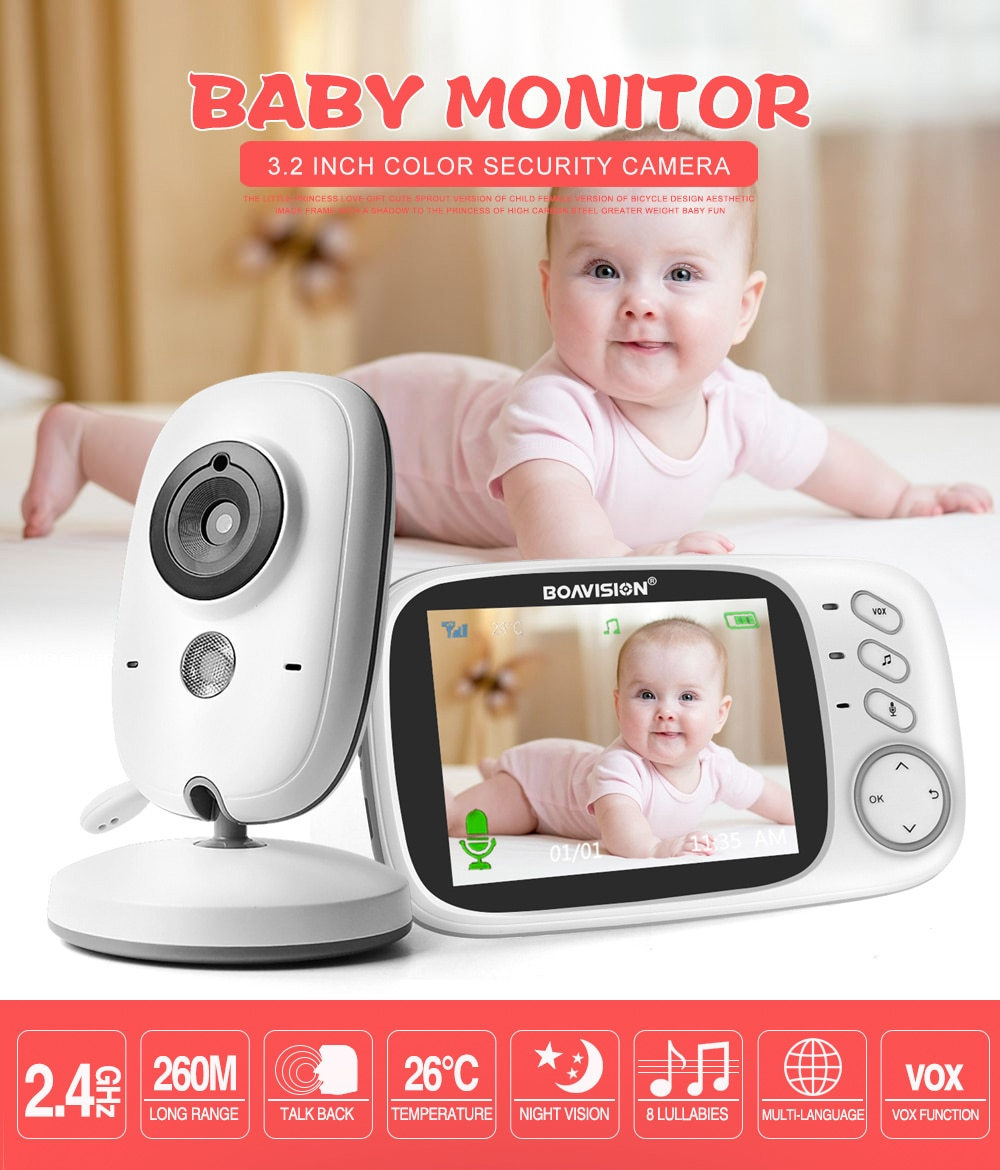 Wireless Baby Monitor with Temperature Control