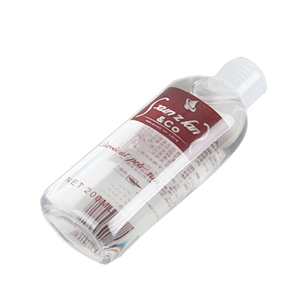 Clear Water-Soluble Lubricant Oil