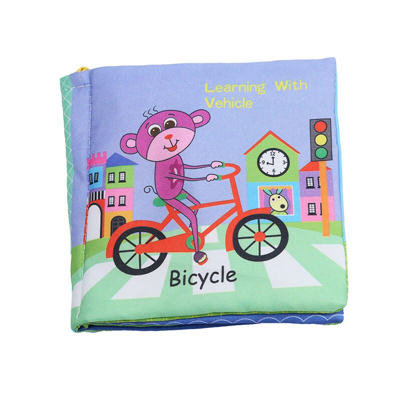 Educational Thematic Rattle Book Toy