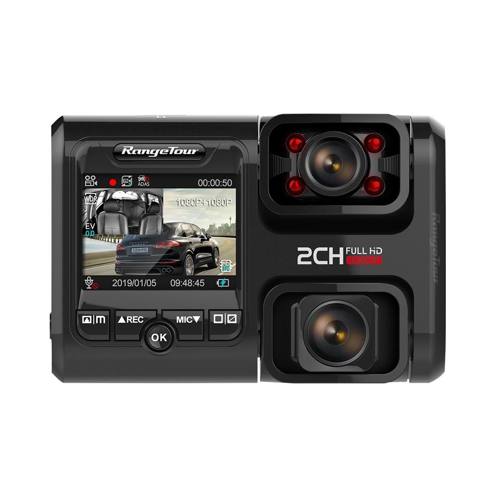 Dual Lens Car DVR with GPS